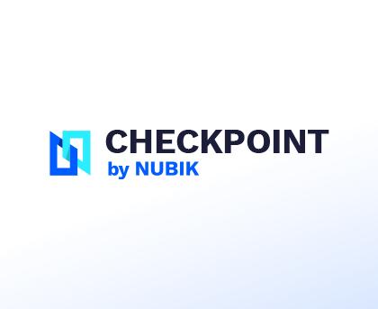 Checkpoint Icon Logo Card