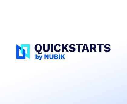 Quickstarts Icon Logo Card